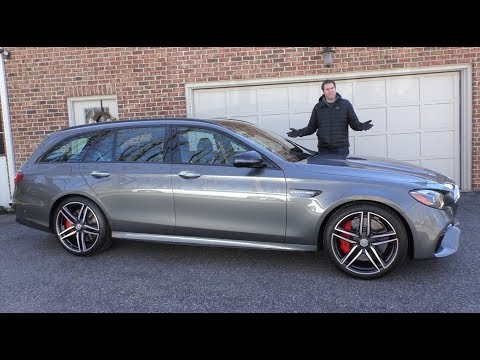 The 2018 Mercedes-AMG E63S Wagon Is a $120,000 Family Wagon