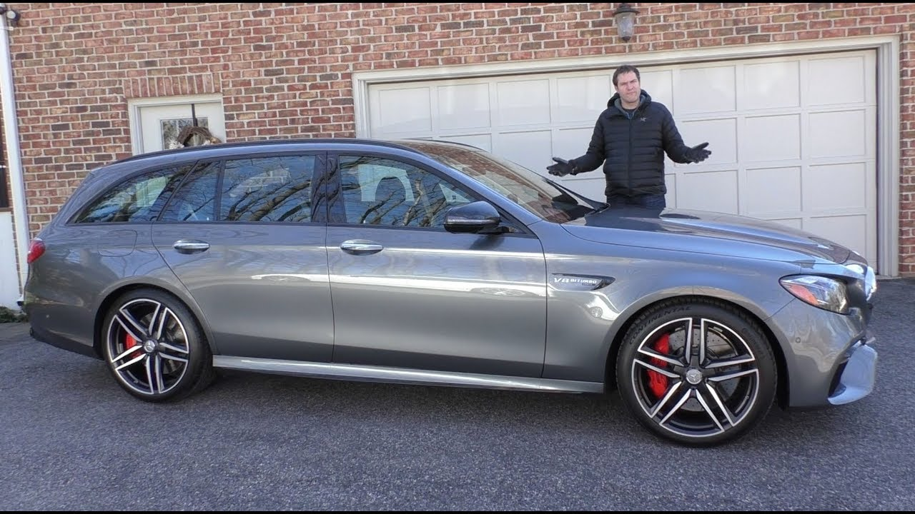 The 2018 Mercedes Amg E63s Wagon Is A 120 000 Family