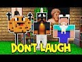 WHATEVER YOU DO, DO NOT LAUGH! - MINECRAFT CHALLENGE!