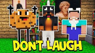 whatever you do do not laugh   minecraft challenge