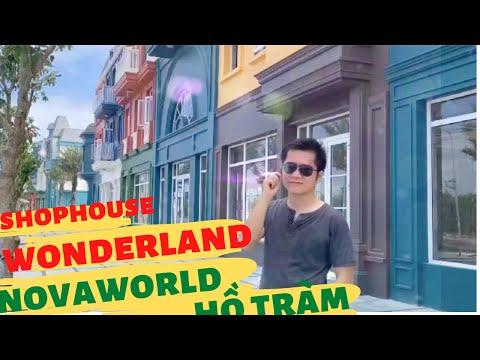 Novaword Hồ Tràm Wonderland - xem thực tế dãy shophouse ven biển cực chất