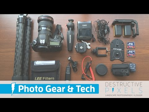 What's in My Camera Bag: Landscape Photography (Apr 2016)
