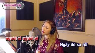 Karaoke Cõi Nhớ Thiên Hương TONE NỮ