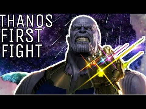 Avengers Infinity War Movie...Thanos's First Fight Explain in hindi... Latest News