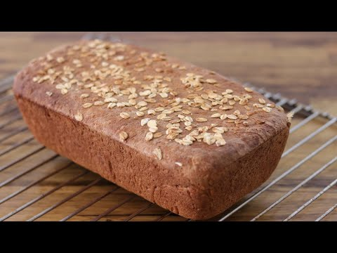 Easy Honey Oatmeal Bread Recipe
