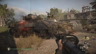 Call of Duty®: WWII_Operation Cobra Mission 2 Veteran difficult Sniper