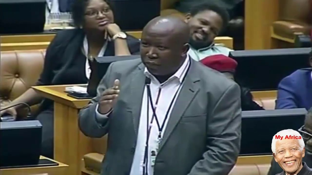 Julius Malema Funny Moments A Compilation See It All. #1