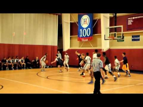 Masters Varsity Basketball vs The Harvey School  11/23/2015