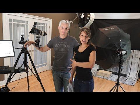 Photography Portrait Studio Tour
