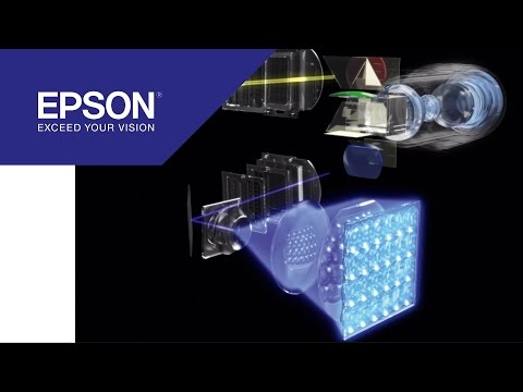 EH-LS10000: Our first laser projector with 4K enhancement technology | Epson