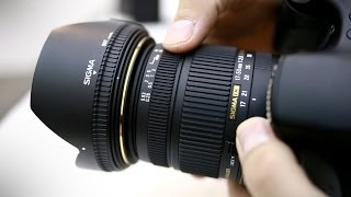 Sigma 17-50mm f/2.8 OS HSM lens review (with samples)