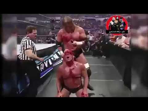 Blood Match Last Man Standing Match Triple  Vs Ric Flair 🔞