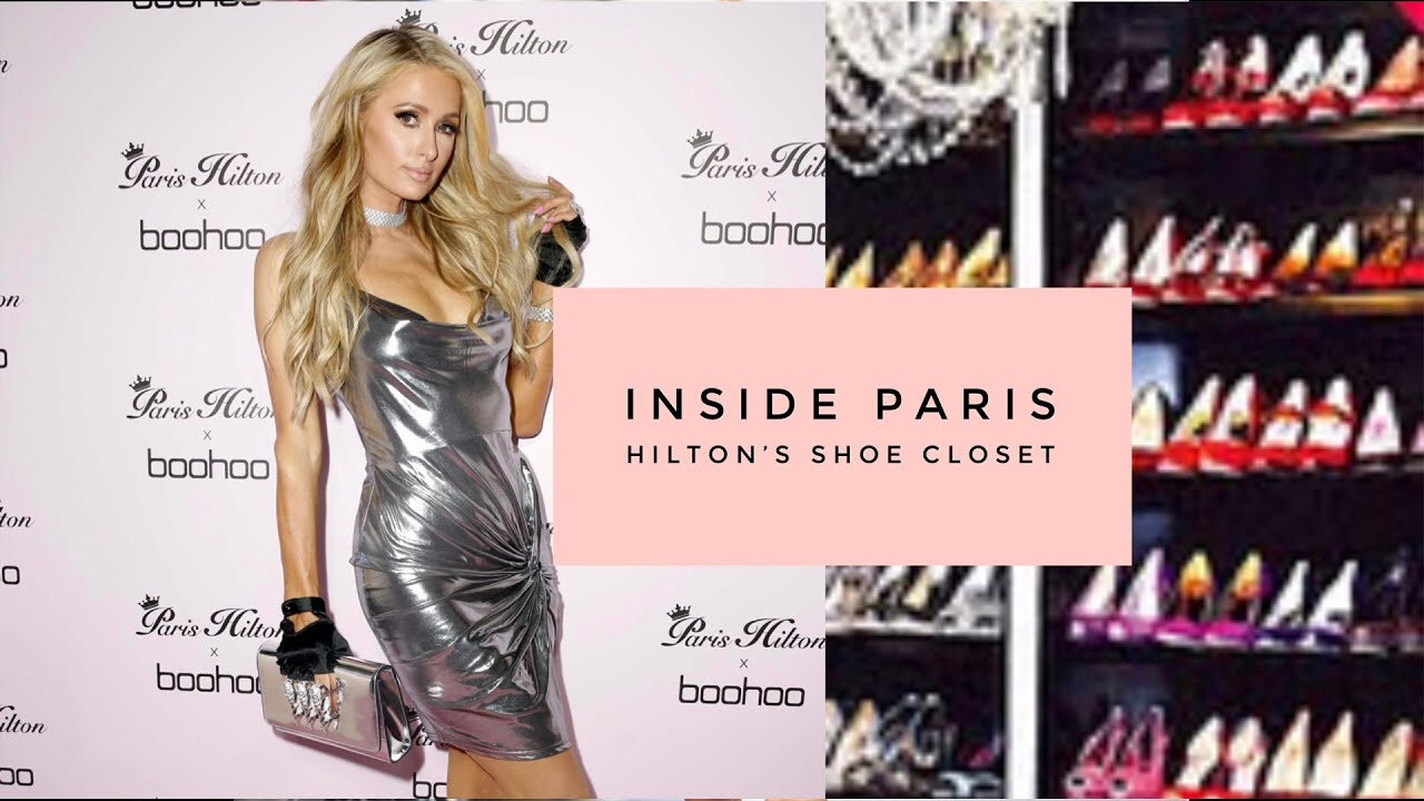Inside Paris Hilton's Shoe Closet - YouTube