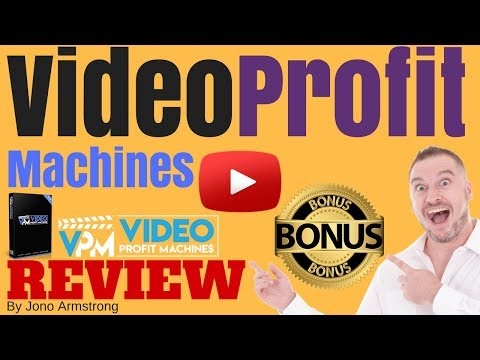 Video Profit Machines Review ⚠️WARNING⚠️ DON'T BUY VIDEO PROFIT WITHOUT MY 👷CUSTOM👷 BONUSES!!