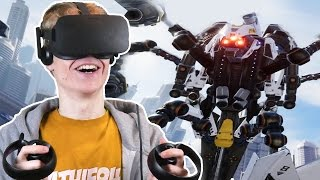 BEATING THE FINAL BOSS | Robo Recall VR  (Oculus Touch Gameplay)