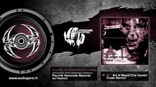 RADIUM - HELLFISH - THE SPEED FREAK - B1 - Art is Nasal (The Speed Freak Remix) - PARANOÏA PKGRX02