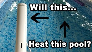 Can a sous vide Joule heat our pool?