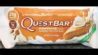 Quest Bar: Pumpkin Pie Review