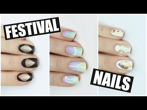 HOW TO: Festival Nail Art | Coachella 2016