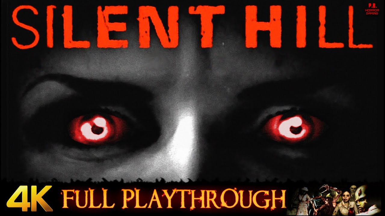 Silent Hill 1 | 4K | Full Game Longplay Walkthrough No Commentary