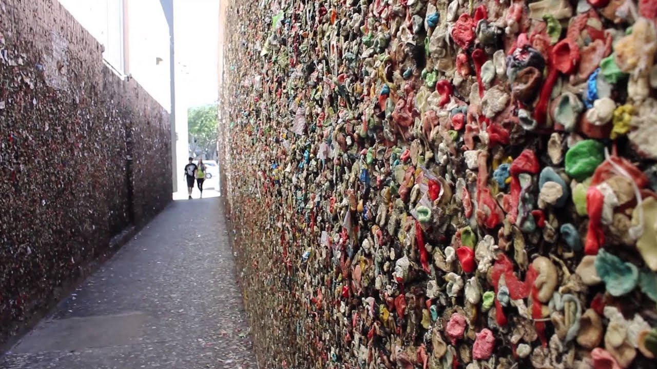 Bubblegum Alley In San Luis Obispo Ca Youtube