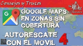 Descargar Mapas para google maps en zonas sin cobertura. Free HD Video