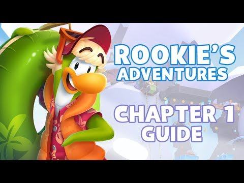 Club Penguin Island - Rookie's Adventures Chapter 1 (COMPLETE GUIDE!)