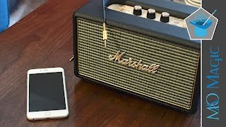 Marshall Acton is Another Fantastic Bluetooth Speaker that Looks Great