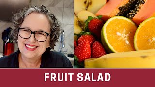 How To Make A Fruit Salad - The Frugal Chef