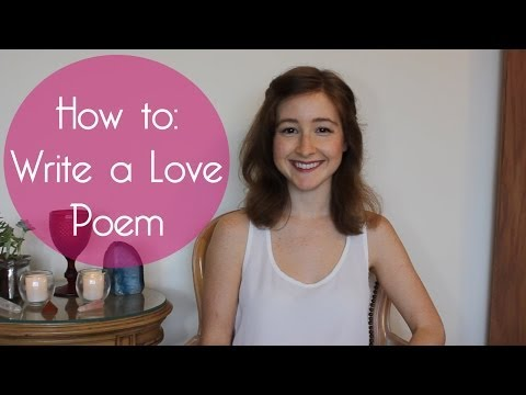 How To Write Love Poem Poetry Writing Exercise For Valentines Day