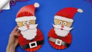 DIY paper crafts for kids Paper toys | Christmas crafts santa claus DIY santa claus
