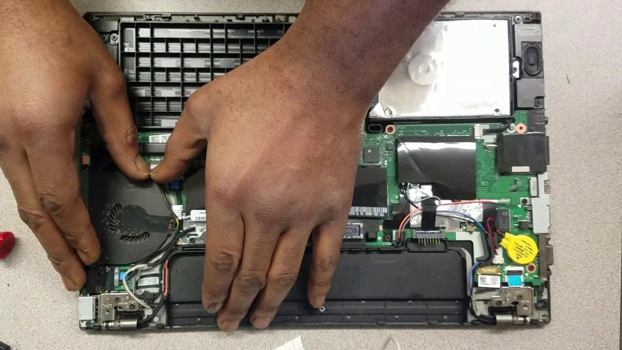 Replacing Fan On Lenovo T450