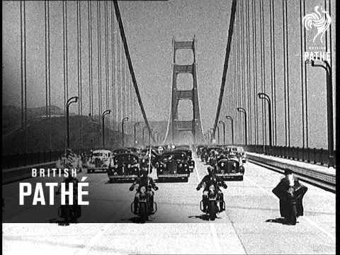 Golden Gate Bridge Open 1937