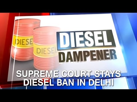 Supreme Court Stays Diesel Ban In Delhi