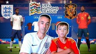 INGLATERRA VS ESPAÑA - UEFA NATIONS LEAGUE
