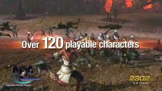 WARRIORS OROCHI 3 - OFFICIAL LAUNCH TRAILER