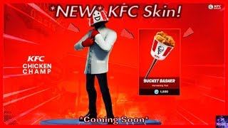 "* NEU* KFC ""Chicken Champ"" Skin! (In Kürze) 