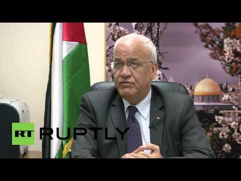 State of Palestine: Chief Palestinian negotiator optimistic UN WILL recognise statehood bid