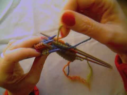 Crum Brown Interleaving Knitting 2