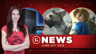 Sony Talks The Last Guardian's Expectations & Zelda Dev Explains Voice Acting - GS Daily News