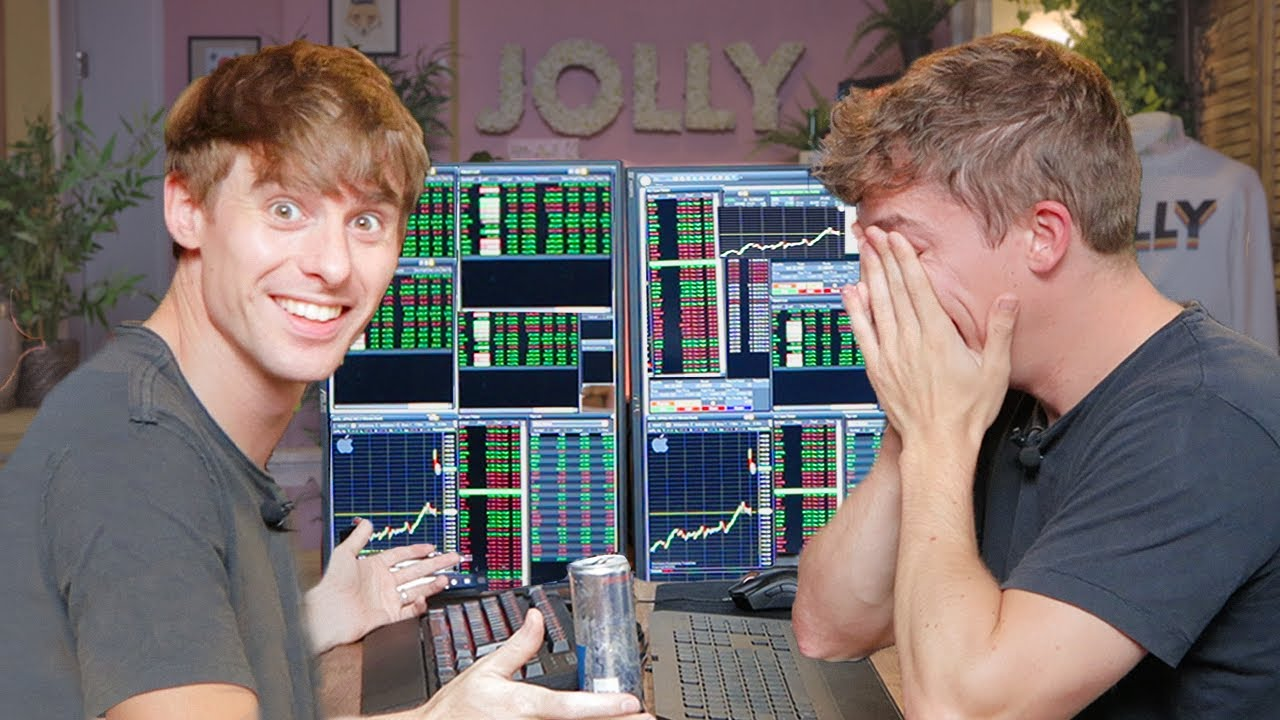 When Noobs Try Stock Trading for the First Time...🤦♂️