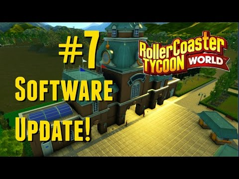 Rollercoaster Tycoon World (RCTW) Live Stream! Software Update No. 7 (Skybox & Rock Amphitheater)