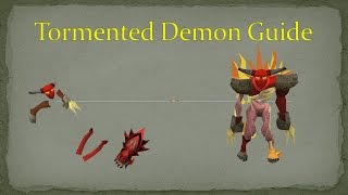 Tormented Demon Guide 2015