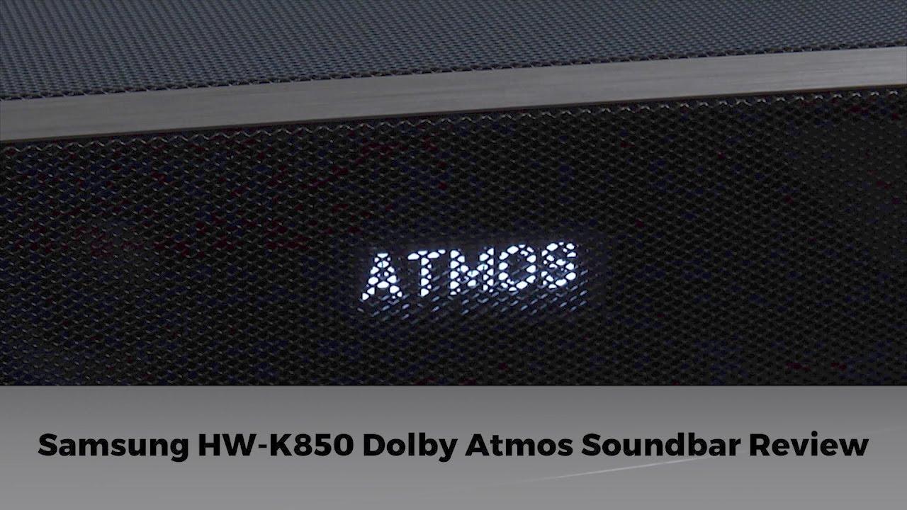 Samsung HW-K850 3 1 2 Dolby Atmos Soundbar Review | AVForums