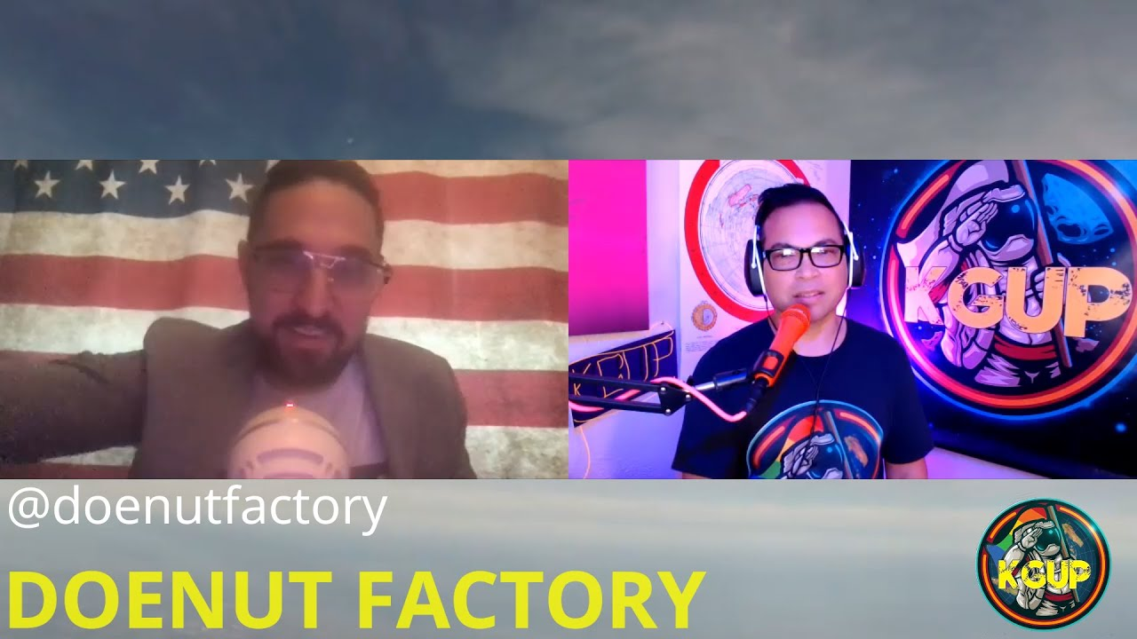Alex of DoeNut Factory drops donuts of truth