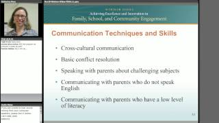 Teacher-Parent Relationship: Using Professional Development to Improve Family & Community Engagement