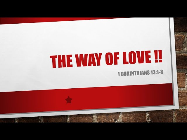 VP Live - Feb 14th, 2021 // The Way of Love