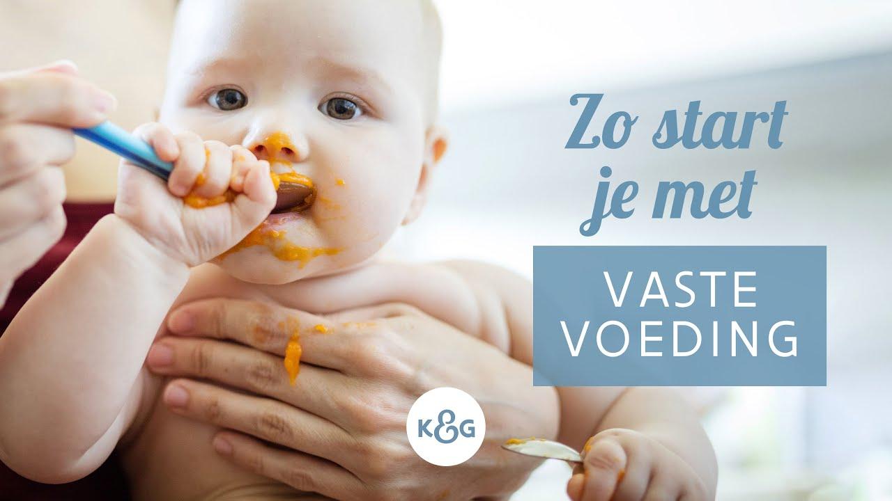 baby vaste voeding