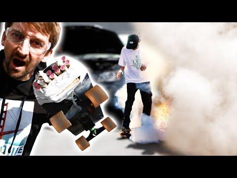 EXTREMELY DANGEROUS ROCKET SKATEBOARD