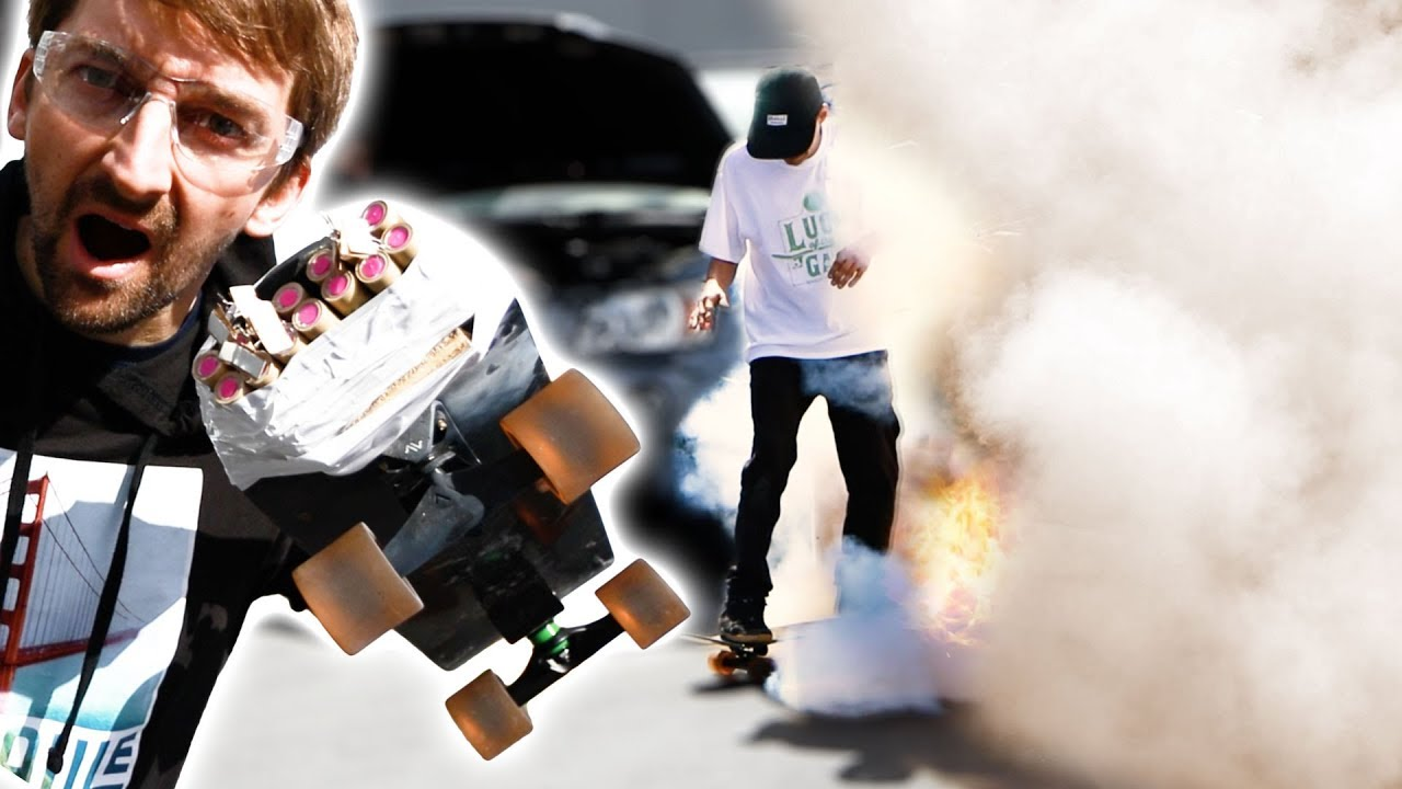 EXTREMELY DANGEROUS ROCKET SKATEBOARD